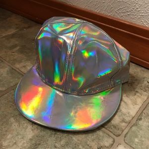 Accessories - Marty Mcfly-esk Flat Billed Diamond Hat